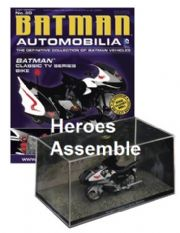 DC Batman Automobilia Collection #30 Classic TV Series Bike Batcycle Eaglemoss